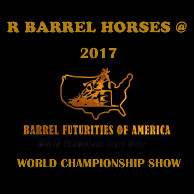 R Barrel Horses at the 2017 BFA